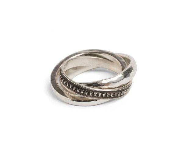 ring forever hammered