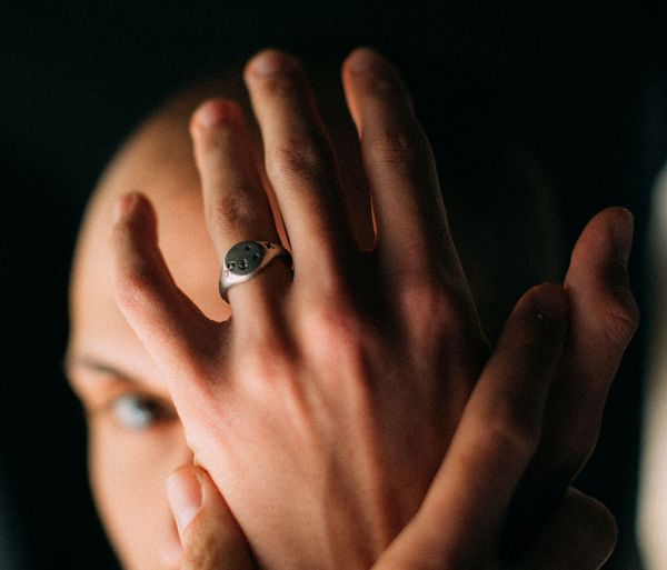 signet ring faith love hope