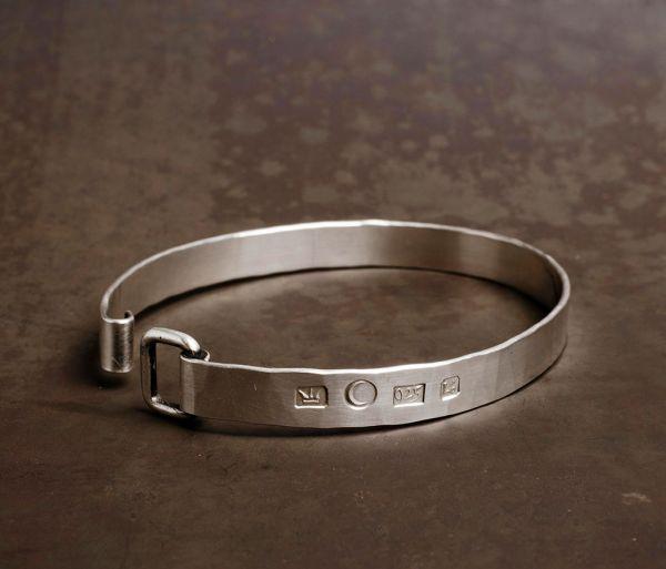 band bracelet stamped