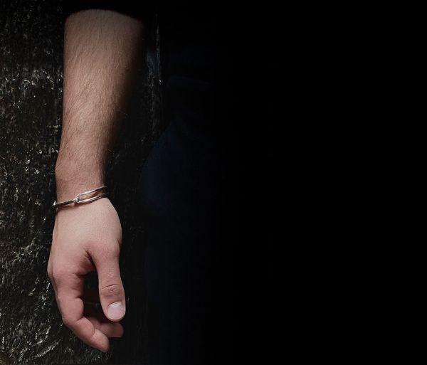 bracelet hammered link