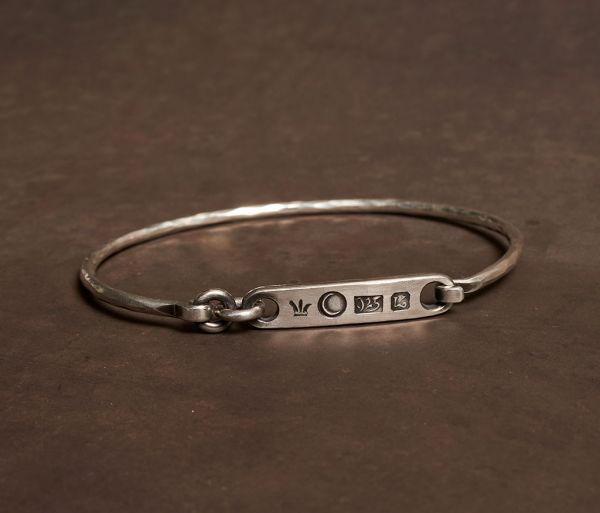 bracelet tag stamped