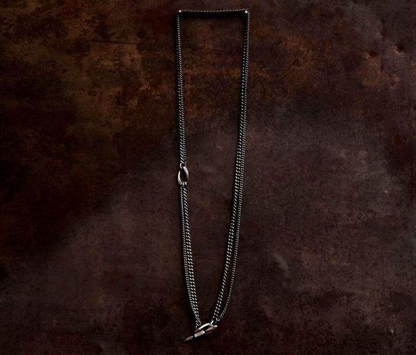 necklace two chains