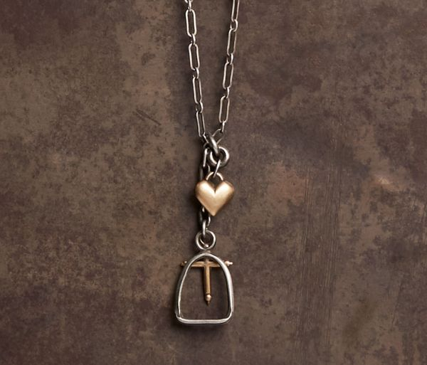 fine chain lucky charms silvergold