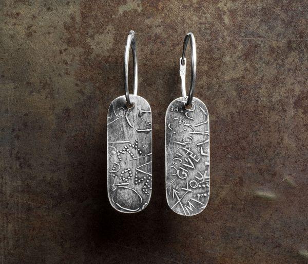hoop earrings urban traces