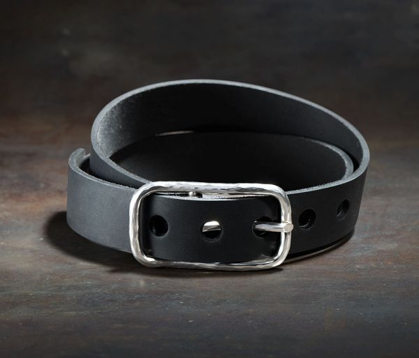 belt classic hammered