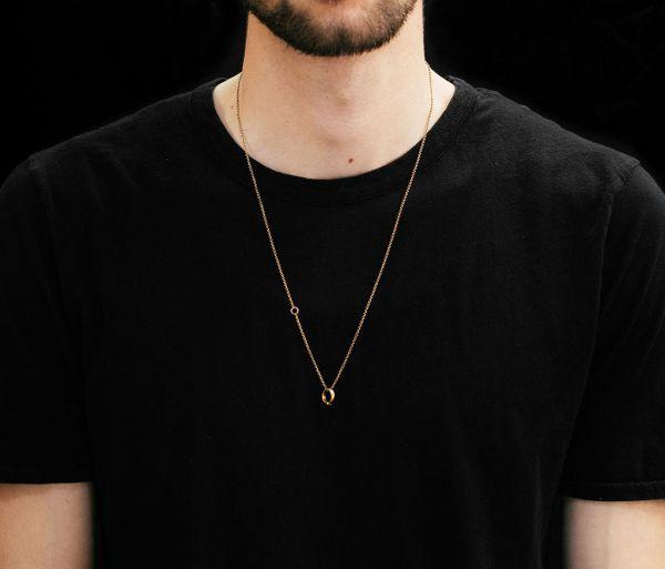 chain mini ring gold