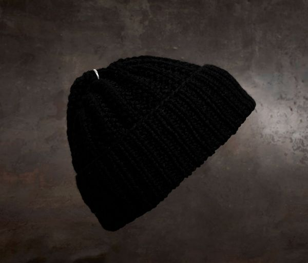cap sailor - ring hammered black