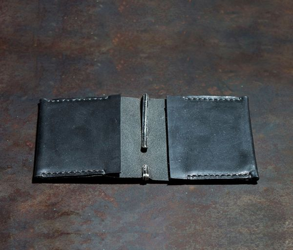 double card case+clip embossed