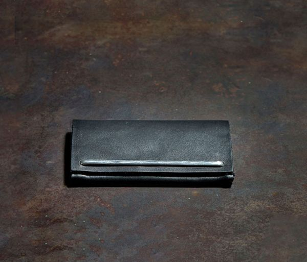 card case brace hammered