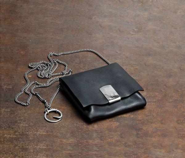 purse chain hammered